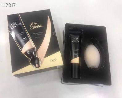 韓國Clio遮瑕液粉底液二合一局部全臉BB霜 #2-bp自然色