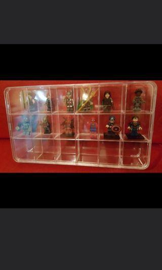 復仇者聯盟 無限之戰 The Avengers 三方 副廠 公仔 不是 LEGO  連透明盒