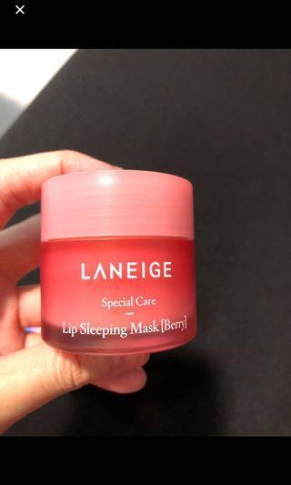 Laneige Lip Sleeping Mask in berry 20g