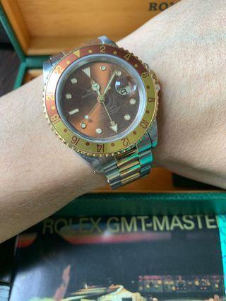 Rolex 16713 GMT II