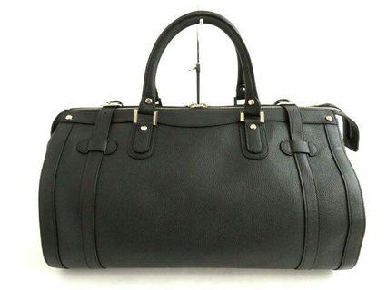 Authentic Premium Full Leather Boston Bag Travel by Gold Pfeil Germany