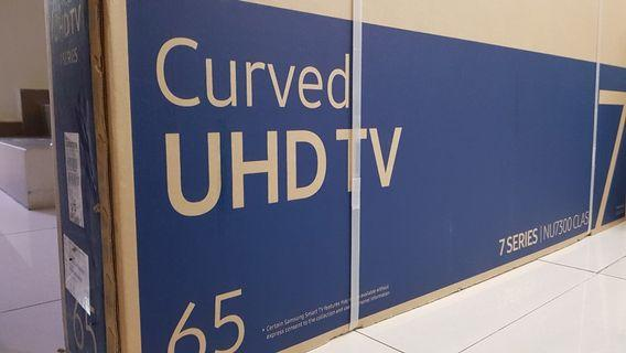 Samsung Curved UHD TV 65 INCH UA65NU7300K