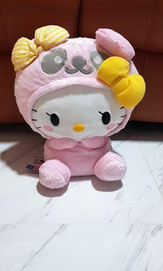 (INSTOCK) Sanrio Hello Kitty Plush - Panda Series
