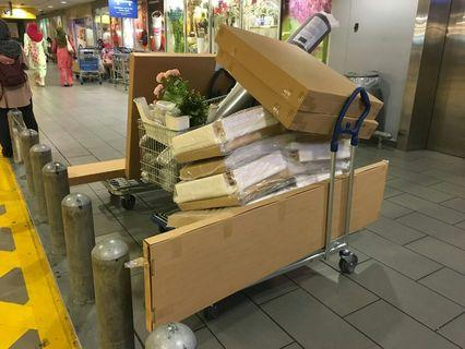 Delivery & Pemasangan perabot Ikea