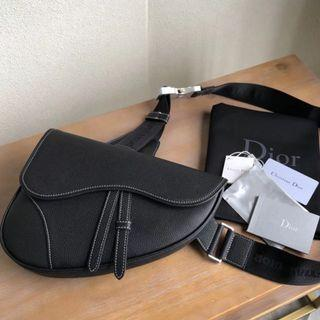 Dior x Kaws saddle bag belt bag 2019