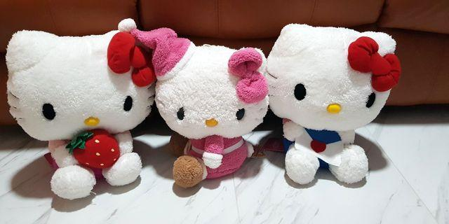 (INSTOCK) Sanrio Hello Kitty Plush - 3 Designs