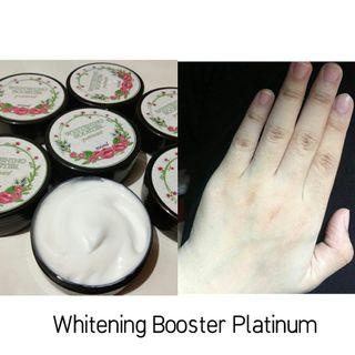 Lotion booster whitening