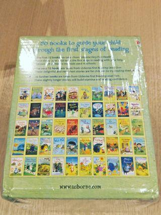 Usborne my first reading library 1set 50books