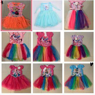 Offer!! 2 for$20!! Frozen dress for age 2-7 yrs old