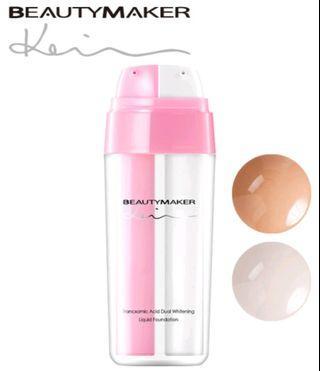Beautymaker Hydrochloric Acid Dual Whitening Liquid Foundation