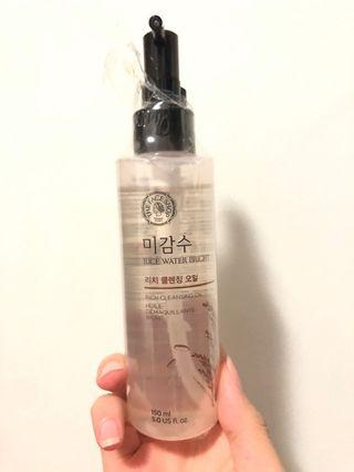The face shop oil cleanser