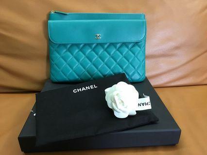 Chanel O Case Cluth Bag