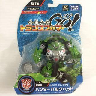 Transformers GO! Hunter Bulkhead