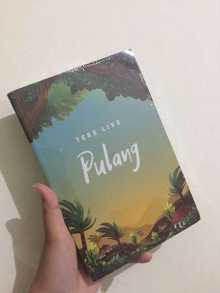Novel Tere Liye - Pulang baru masih segel Gramedia TURUN HARGA!