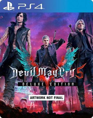 PS4 Devil May Cry 5 DMC5