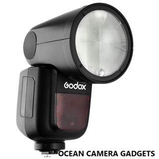 Godox V1 TTL Li-ion Round Head Camera Flash V-1 for Canon Nikon Sony camera PRE-ORDER now