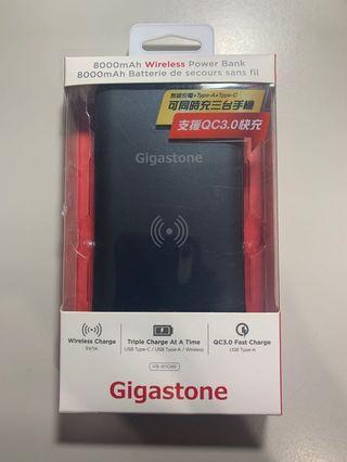 🚚 可3隻手機同時充電:Type-C雙向充電-無線充電 行動電源