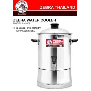 water dispenser Zebra cooler rooster 22cm 7.5 litres