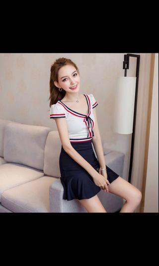 🚚 Korean Student Slim Fit Dress