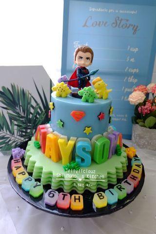 Superman/Super Hero Jelly Cake