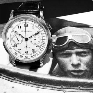 Collectible Longines Lindbergh Atlantic Voyage Chronograph 47mm