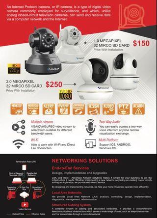 INQMEGA 1080P IP Camera Wireless Home Security Surveillance Camera