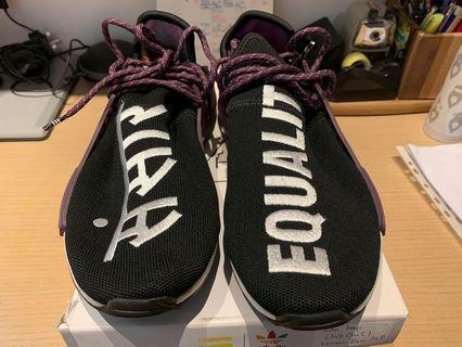 2a6cfe420bad1 Adidas Pharrell Human Race HU Holi NMD Trail Black Purple