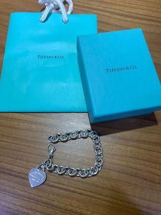Tiffany 心型手鍊