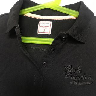 Hush Puppies Black Polo Shirt