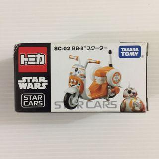 Tomica Star Wars - Star Cars SC-02 BB-8 Scooter