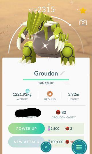 🚚 Pokemon Go: Shiny Groudon