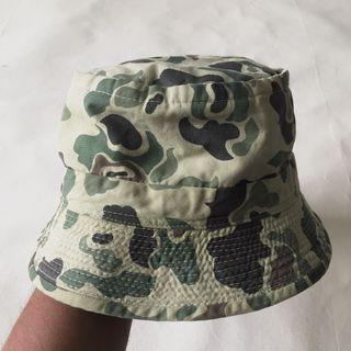 7fce9347 Authentic Frog Skin Camouflage Army Sample Bucket Hat