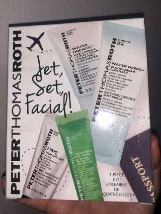 PETER THOMAS ROTH Jet Set Facial 4 Piece Kit