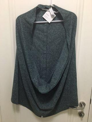 Lululemon Vinyasa Scarf Green Color 100% Real NEW (with Receipt)