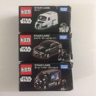 Tomica Star Wars - Star Cars 7-Eleven Exclusive (3 Cars)