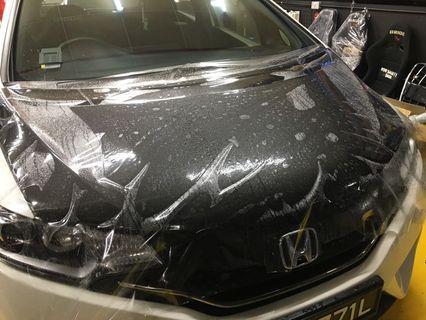 Honda jazz Protective film install