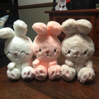 🚚 bunny plush toys