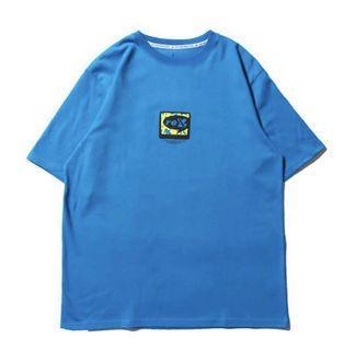 :::二手:::Remix藍色T-shirt