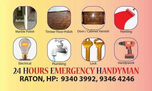 Handyman 24 Hours services call HP.93403992
