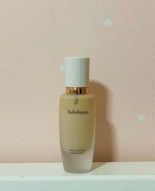 🚚 Sulwhasoo Sheer Lasting Gel Foundation 21