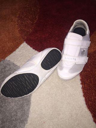 Lacoste shoes size 6W