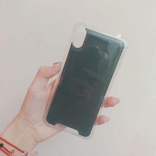 🚚 iPhone XS MAX綠色反重力氣墊空壓殼