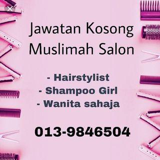 Jawatan Kosong Perkerja Salon Muslimah Setia Alam