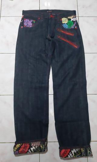 Celana Jeans Roll Up