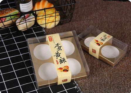 Transparent mooncake box