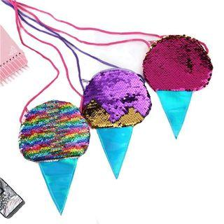 🚚 [Available] Ice Cream Sequin Pouch