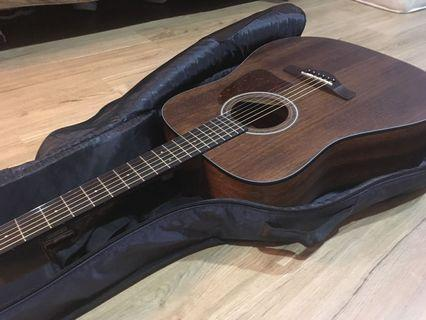 Ibanez Artwood Series Solid Top Acoustic Guitar (AW54 Open Pore)