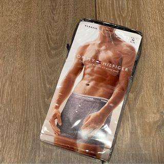 Tommy Hilfiger men's underwear (Tommy Hilfiger灰色平腳內褲)