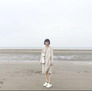 🚚 niko and...棉麻襯衫洋裝