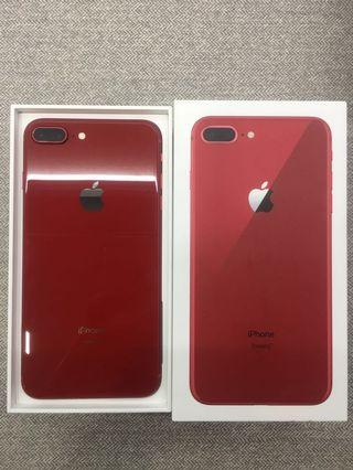 iPhone 8 Plus Product Red 64GB AS GOOD AS NEW